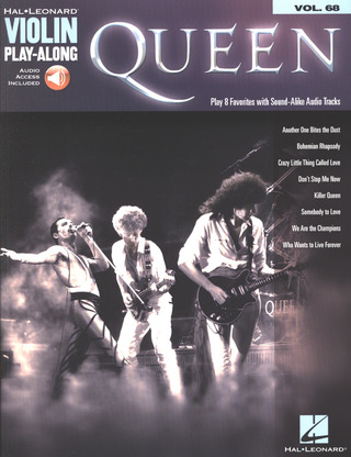 Queen: Queen: Violin Play-Along - Volume 68