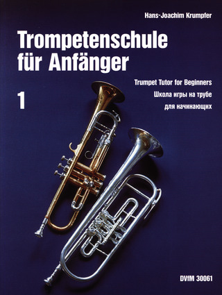 Hans Joachim Krumpfer: Trumpet Tutor for Beginners