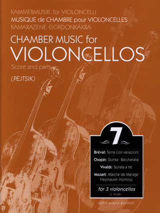 Chamber Music for Violoncellos 7