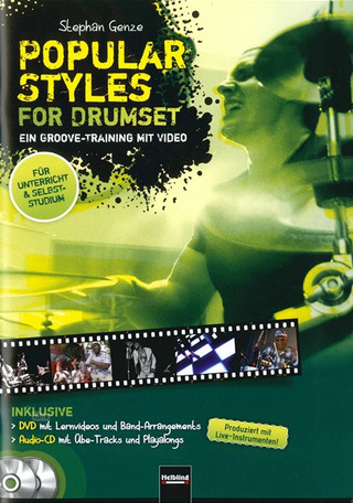 Genze Stephan: Popular Styles for Drumset