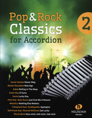 Pop & Rock Classics 2 – for Accordion