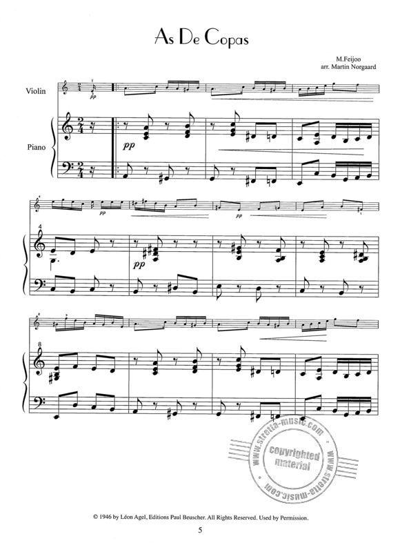 French Tangos For Violin (1)