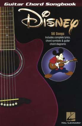 Guitar Chord Songbook: Disney