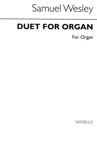 Wesley Samuel: Wesley, Ss Duet For Organ No. 19 4 Hands