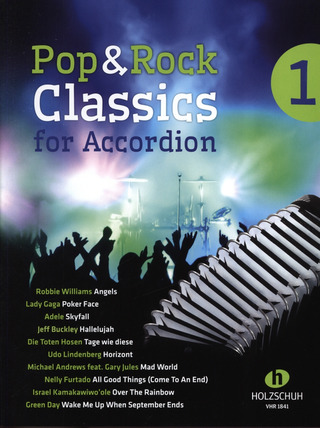 Waldemar Lang: Pop & Rock Classics 1 – for Accordion