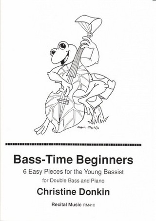 Donkin Christine: Bass time beginners
