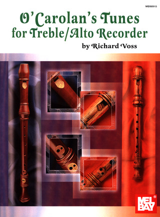 Richard Voss: O'Carolan's Tunes for Treble/Alto Recorder