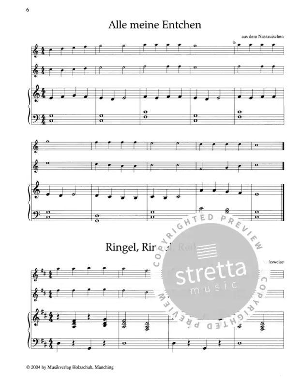 kinderlieder für querflöte und klavier von anne