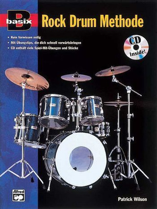 Patrick Wilson: Basix Rock Drum Methode