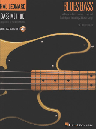 Ed Friedland: Blues Bass (+Audio Access)