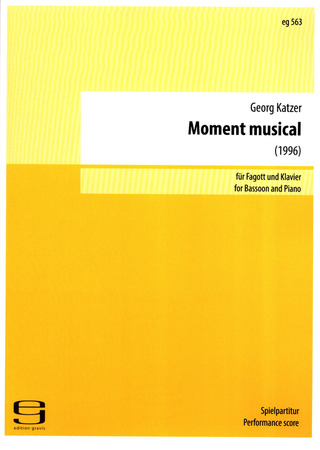Georg Katzer: Moment Musical