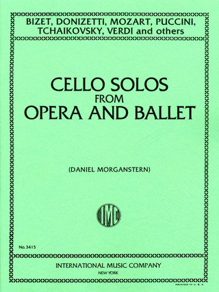 Album of Solos from Opera and Ballet