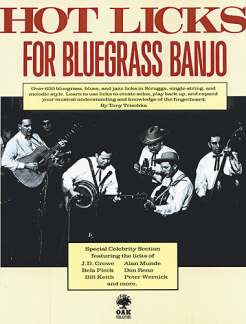 Trischka Tony: Hot Licks For Bluegrass Banjo