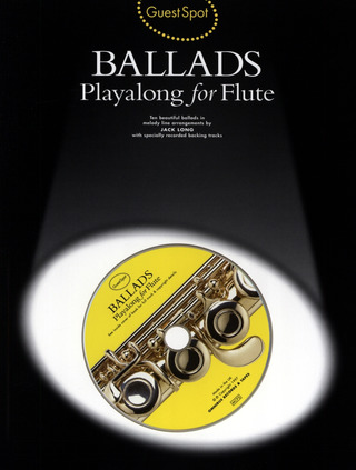 Guest Spot Ballads Playalong For Flute Bk/Cd