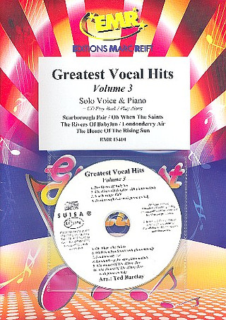 Greatest Vocal Hits Volume 3 + CD