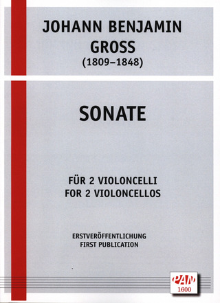 Johann Benjamin Gross: Sonate