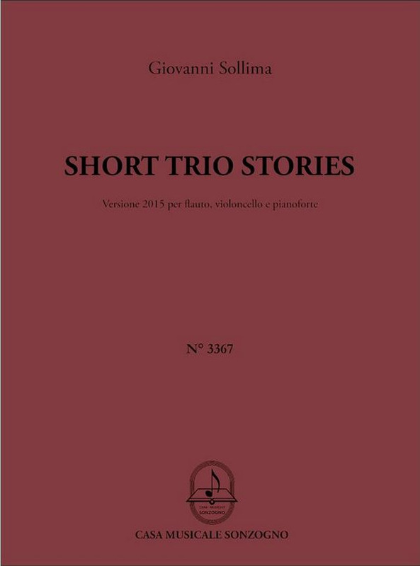 Giovanni Sollima: Short Trio Stories