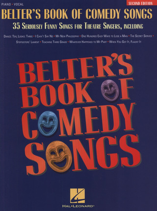 Belter's Book Of Comedy Songs (Second Edition)