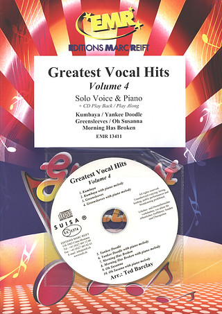 Greatest Vocal Hits Volume 4 + CD