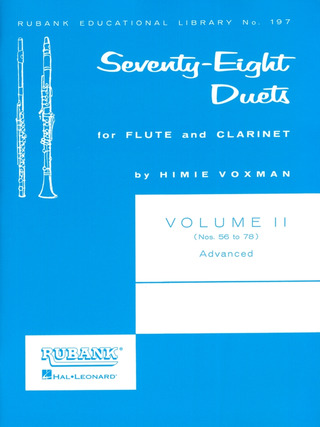 Voxman, Himie: Seventy-Eight Duets 2