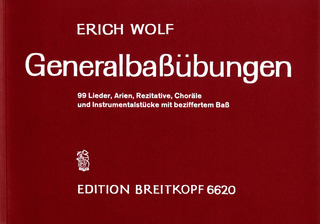 Erich Wolf: Figured Bass Exercises