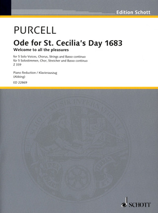 Henry Purcell: Ode for St. Cecilia's Day 1683