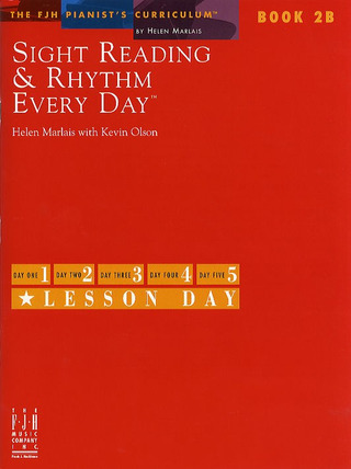 Helen Marlais et al.: Sight Reading And Rhythm Every Day - Book 2B
