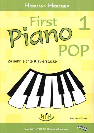 Heimeier Hermann: First Piano Pop 1