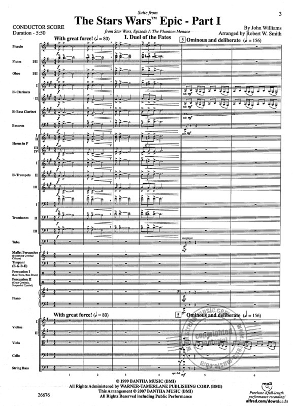 John Williams: Suite from the Star Wars Epic - Part I (1)