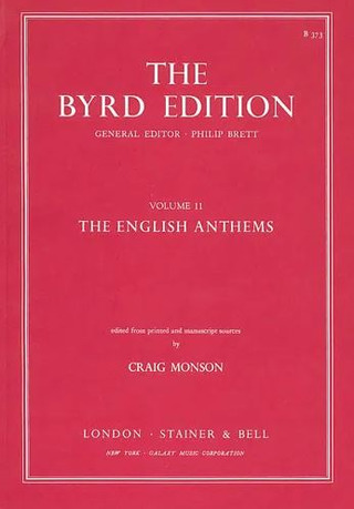 William Byrd: English Anthems