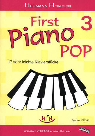 Heimeier Hermann: First Piano Pop 3
