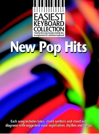 Easiest Keyboard Collection New Pop Hits