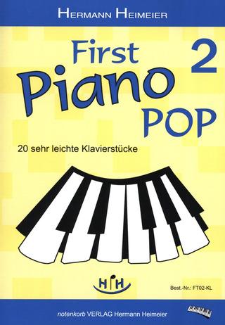 Heimeier Hermann: First Piano Pop 2