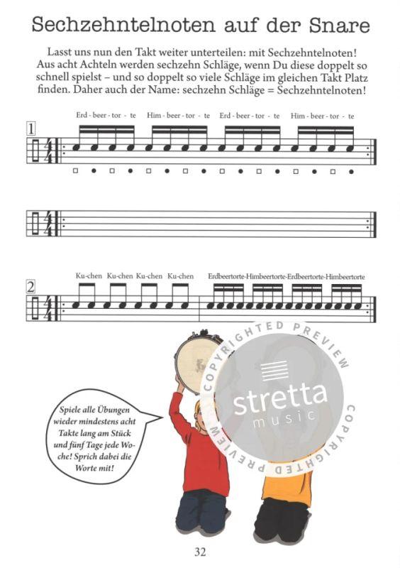 Andreas Schwarz Schlagzeugschule ab 6 Jahre Schlagzeug lernen mit Frida /& Paul