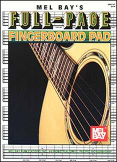 Notenblock Full Page Fingerboard Pad