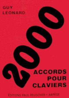 Leonard Guy: 2000 Accords Pour Claviers