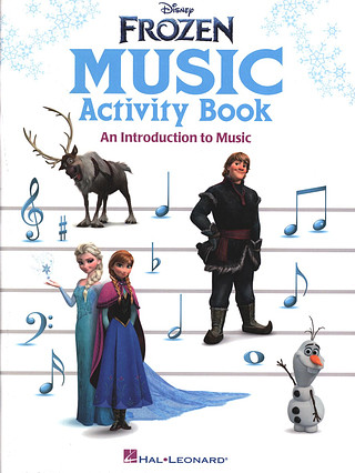 Disney Frozen Music Activity Book