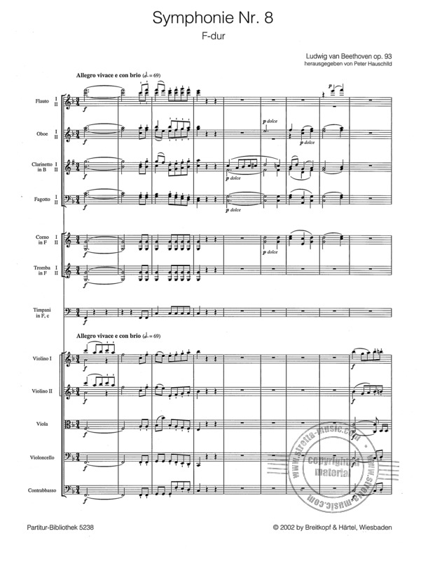 8. Sinfonie Beethoven