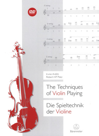 Robert H.P. Platz y otros.: The Techniques of Violin Playing