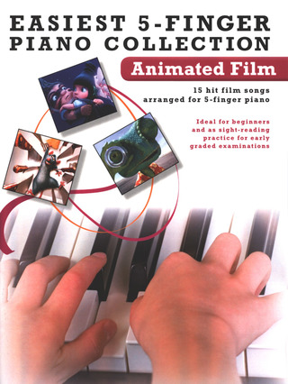Easiest 5-Finger Piano Collection: Animated Film