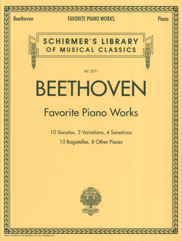 Ludwig van Beethoven: Ludwig Van Beethoven: Favourite Piano Works