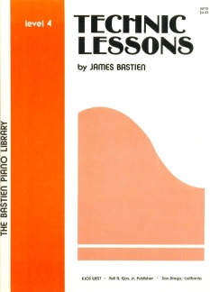 James Bastien: Bastien Piano Library Technic Lessons Level 4