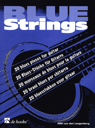 Jan N.M. van den Langenberg: Blue Strings