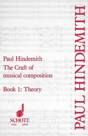 Paul Hindemith: The Craft of musical composition 1 – Theory