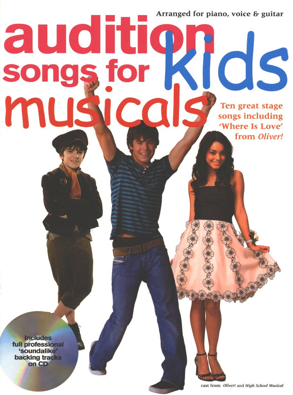 Audition Songs For Kids - Musicals