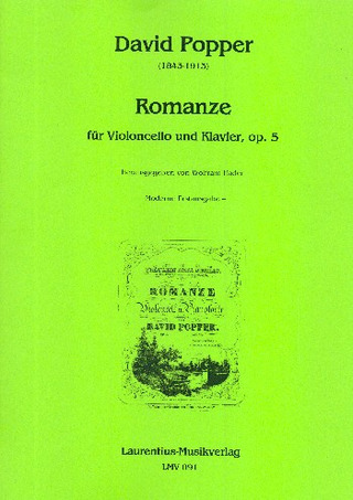 David Popper: Romanze op. 5