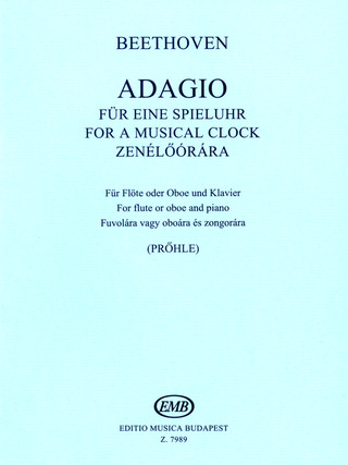 Ludwig van Beethoven: Adagio for a musical clock WoO 33/1