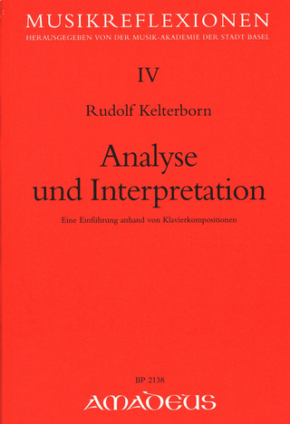 Rudolf Kelterborn: Analyse und Interpretation