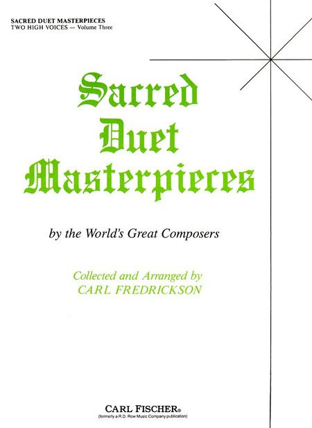 Sacred Duet Masterpieces 3