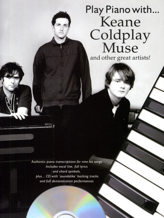 Keane + Coldplay + Muse And Other Great Artists: Play Piano With Keane Colplay Muse Etc Bk/Cd